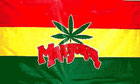 2ft by 3ft Marijuana Flag Only a Few Left