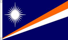 2ft by 3ft Marshall Islands Flag