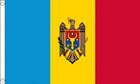 2ft by 3ft Moldova Flag