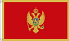 2ft by 3ft Montenegro Flag