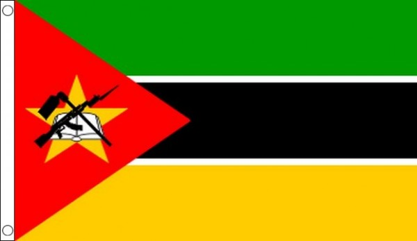 2ft by 3ft Mozambique Flag