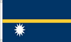 2ft by 3ft Nauru Flag
