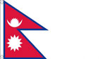 2ft by 3ft Nepal Flag