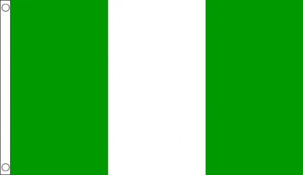 2ft by 3ft Nigeria Flag