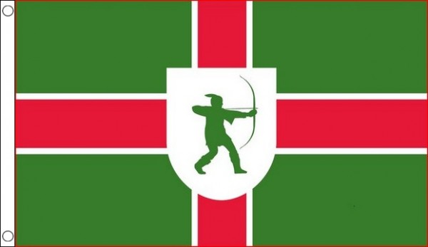 2ft by 3ft Nottinghamshire Flag