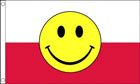 Poland Smiley Face Flag Only a Few Left