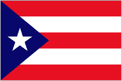 2ft by 3ft Puerto Rico Flag
