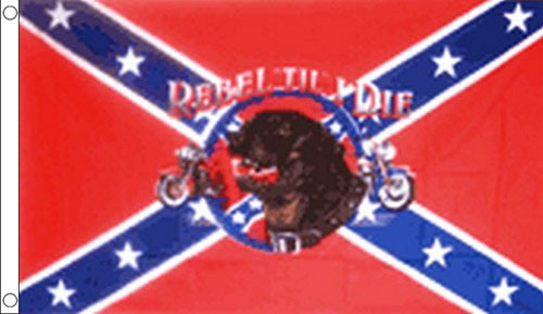Rebel Til I Die Flag Only A Few Left