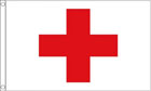 2ft by 3ft Red Cross Flag