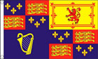 Royal Banner Flag 1603 to 49,1660 to 89,1702 to 07