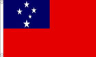 2ft by 3ft Samoa Flag