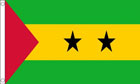 2ft by 3ft Sao Tome and Principe Flag