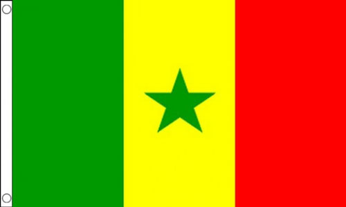 2ft by 3ft Senegal Flag