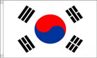2ft by 3ft South Korea Flag