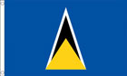 2ft by 3ft St Lucia Flag