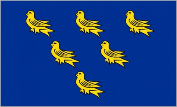 2ft by 3ft Sussex Flag