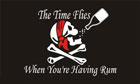 2ft by 3ft Time Flies When You're Having Rum Flag