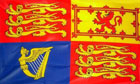 2ft by 3ft UK Royal Standard Flag