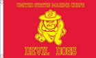 US Marines Devil Dog Flag