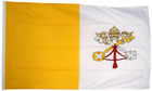 2ft by 3ft Vatican City Flag