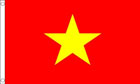 2ft by 3ft Vietnam Flag