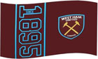 West Ham United Flag 1895 Design