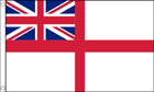5ft by 8ft White Ensign Flag