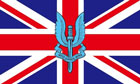 SAS Flag Ceremonial Union Jack