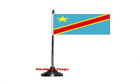 Democratic Republic of Congo Table Flag