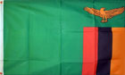 2ft by 3ft Zambia Flag